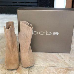 Bebe nude boots